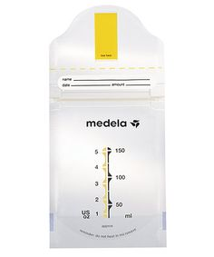 Medela Pump and Save Bags enable you to store breast milk neatly and easily in the fridge or freezer. Simply express the milk, label the bag and pop it in the fridge.