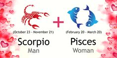 Scorpio Man and Pisces Woman Love Compatibility Pisces Woman Scorpio Man, Scorpio Traits Male, Pisces And Scorpio Compatibility, Scorpio And Pisces Relationship, Scorpio Relationships, Zodiac Signs Scorpio, Love Compatibility, Scorpio Female, Pisces Quotes