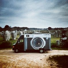 Go around the world with street artist JR, who uses Instagram for his projects. The Mobile Photo Booth!  Link to this very cool story with pics..  http://ti.me/1kE7Xrb
