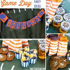 game day football party ideas {Do for Superbowl Party}