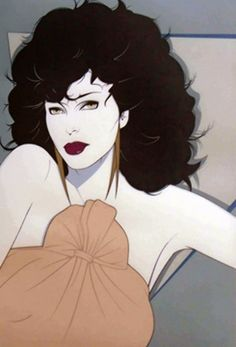 Joan Collins Serigraph on Paper by Patrick Nagel From the edition of 150
