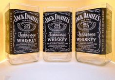 Jack Daniels Drinking glasses set of four. by AmericanHomeCrafts, $39.96