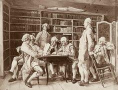 Jean-Louis Ernest Meissonier, Lecture chez Diderot Lecture chez Diderot. Peinture (1859) de Jean-Louis Ernest Meissonier.