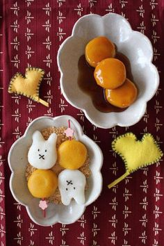 mimiyuki's dish photo みたらし きなこ の       お月見団子 | http://snapdish.co #SnapDish…