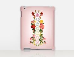 Floral Chakras Print iPad Case