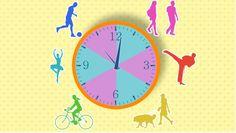 Mozgás - Egészséges ételek - Egészségtan 7-8. osztály VIDEÓ - Kalauzoló - Online tanulás Nap, Clock, Watch, Clocks