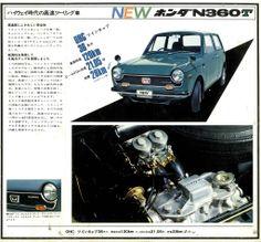 Honda N360T brochure