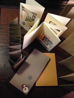 Accordion Book Experiments :: A Day of Play | San Francisco Center for the Book