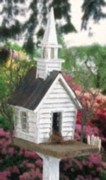 29-BH35 - Church Rustic Birdhouse Woodworking Plan