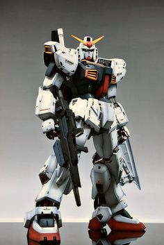 PG 1/60 RX-178 Gundam Mk-II : Latest Work by Suny Buny. Full Photoreview No.26 Big Size Images