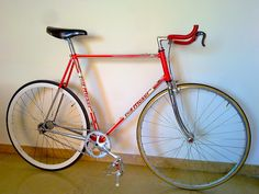 Francesco Moser 51.151 fixed bike vintage