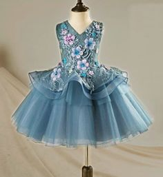 Browse Girly Shop Trendy Embroidery Flower Applique Sweetheart Neckline Pageant Prom Princess Junior Bridesmaid Dress With Ribbon Trim (1-12 Years). Free Shipping!