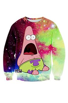 Pink Wind Womens SpongeBob Patrick Star Cartoon Print Casual Sweatshirt Sweater PinkWind http://smile.amazon.com/dp/B015NWHUZM/ref=cm_sw_r_pi_dp_Zi.Wwb009B2XZ
