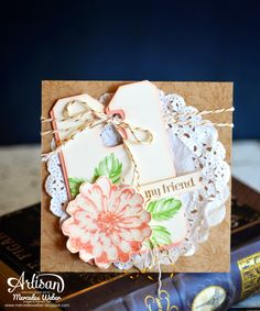 Stampin Up Artisan Blog Hop- Another Scrappy Card | Creations by Mercedes