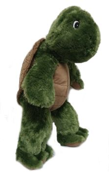 "Singing 16"" plush Turtle which plays custom music featuring your child's name."