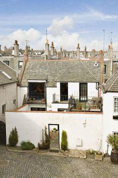 The beautiful Egypt Mews, Edinburgh, Midlothian