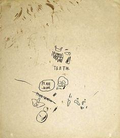 Jean-Michel Basquiat  Untitled #3, from Leonardo  Gregg Shienbaum Fine Art  - See more at: http://archesart.co.uk/#sthash.DgCXNCkB.dpuf