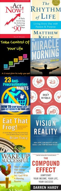 Best Daily habit and routine ebooks