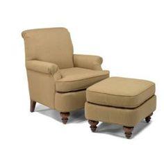 Wilmington Chair & Ottoman
