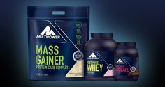 Protein brand Multipower rolls out fresh packaging design