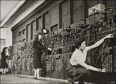The first modern computer -- ENIAC -- February 14, 1946