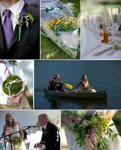Sweet Wildflower New Hampshire Wedding | Real Hindsight Advice