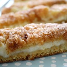 Sopapilla Cheesecake - cream cheese , dough, cinnamon sugar - ahhhh!