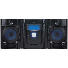 Sylvania Bluetooth Cd Radio Micro System With Blue Led Display