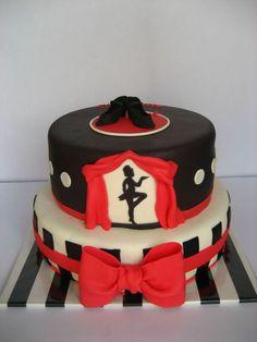 Tap Dance Cake  on Cake Central