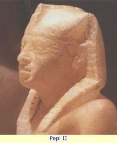 Neferkare Pepi II possibly the longest reigning monarch in history with 94 yrs on the throne or possibly only 64yrs. 2278-2184BCE