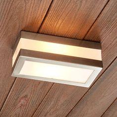 Details Zu MIA Wand Leuchte AUSSEN Ø170mm/ LED/ Weiß/ Glas/ Edelstahl/  Lampe Aussenlampe Au