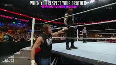 That's what brothers are for #Ambreigns Credit to @AmbroseDreamer