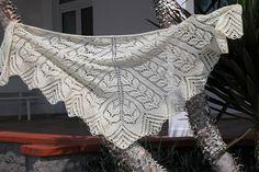 Ромбы Шаль из верены / 35 Diamonds | Knitting club // нитинг клаб