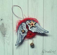 Christmas Decoration... Na ScrapShop.sk bola vyhlásenádecembrová challenge. Téma má názov  *Vianočná ozdoba na stromček *   Podrobné informácie odecembrovej ch...
