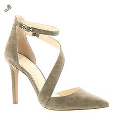 Jessica Simpson Women's Castana Olive Taupe Luxe Kid Suede Pump 10 M - Jessica simpson pumps for women (*Amazon Partner-Link)