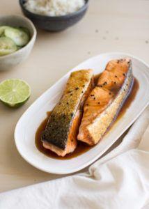 łosoś w glazurze, prosty łosoś, ryba z patelni, szybki obiad Mexican, Ethnic Recipes, Mexicans
