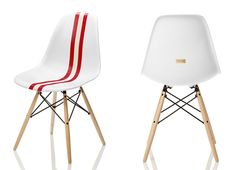 Herman Miller - Eames Shell Chair... with RACING STRIPES!!!