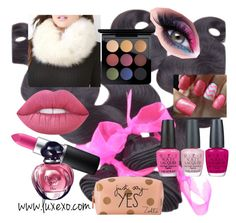 """""""Untitled #50"""" by ljiljanabanovic ❤ liked on Polyvore featuring MAC Cosmetics, Lime Crime, Christian Dior, OPI and Zoella Beauty"""