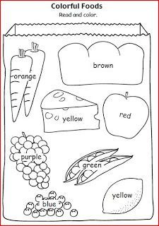 INGLES PARA NIÑOS (FICHAS) Color Worksheets For Preschool, Preschool Colors, English Worksheets For Kids, English Activities, Preschool Learning Activities, Kindergarten Worksheets, Kids Learning, Kids English, English Lessons