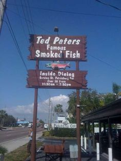 In St. Petersburg, FL, you MUST go to Ted Peters Famous Smoked Fish.  It's casual outdoor dining .... best fish you'll ever eat.  You don't have to take my word for it .... they've been there more than 50 years, so they're obviously doing someting right!