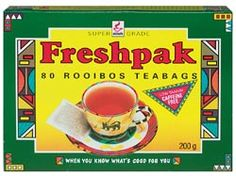 The Australian Bakery Cafe - Freshpak Rooibos Tea Bags - Freshpak Rooibos Tea Bags Australian Bakery, Iced Tea Recipes, South African Recipes, Out Of Africa, Bakery Cafe, My Heritage, Famous Brands, Printing On Fabric, Coasters