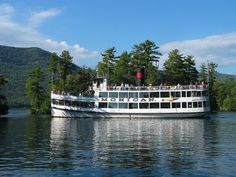 Lake George Steamboat Company...got married on the top deck of this boat at sunset.  Gorgeous!