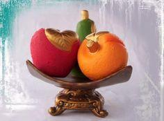 Jarrones de ceramica Plastering, Cold, Vases, Ornaments, Handarbeit, Pottery Vase, Fruit Bowls, Papier Mache, Painted Pottery