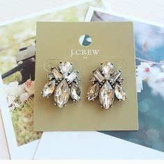 Cute Jcrew Stud earrings Cute Jcrew earrings from free factory J. Crew Jewelry Earrings