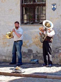 Riga, Latvia - Street Musicians