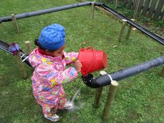 Ideas for the preschool garden. Preschool Garden, Preschool Science, Craft Activities For Kids, Outdoor Activities, Eyfs Outdoor Area, Outdoor Play, Outdoor Classroom, Outdoor School, Home Daycare