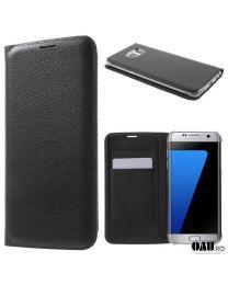 Husa Samsung Galaxy S7 edge G935, Piele Eco, Black Galaxy S7, Galaxy Phone, Samsung Galaxy, S7 Edge, Black, Black People