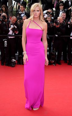 Doutzen Kroes at The Cannes Film Festival Red Carpet Through the Ages - Cannes Red Carpet | wmag.com