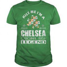 Awesome Tee KISS Chelsea ORIGINAL IRISH LEGEND Shirts & Tees