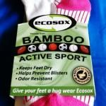 Bamboo Ecosox are pretty in pink! Pair them with the Strive Performance tank. At www.BarefootAC.com.